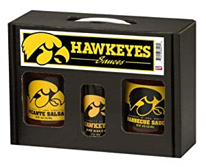 Hot Sauce Harrys Iowa Hawkeyes Tailgate Party Pack from Hot Sauce Harry's Inc.