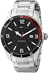Tommy Hilfiger Men's 1790916 Casual Sport 3-Hand Stainless Steel Watch