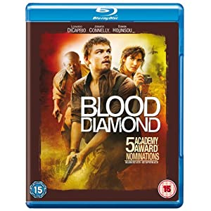 Blood Diamond [Blu-ray] [2007][Region Free]