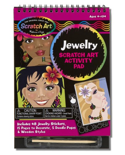 Melissa & Doug Sticker Activity Pads, Jewelry - 1
