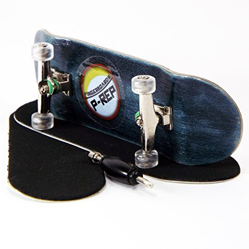 P-REP-30mm-Basic-Complete-Fingerboard-Kit-with-Liquid-Hardware-Black