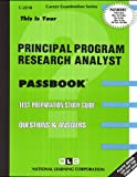 Principal Program Research Analyst(Passbooks) (0837322189) by Jack Rudman