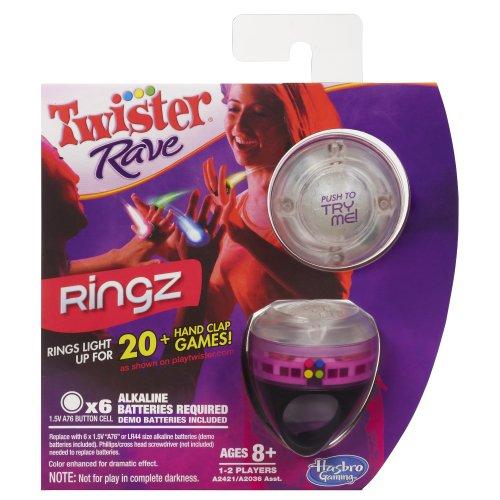 Twister Rave Ringz Game, Pink - 1