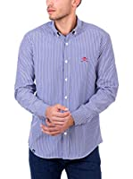 POLO CLUB Camisa Hombre Maverick Academy (Azul)