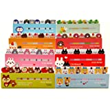 MECO(TM) Sticker Post-It Bookmark Marker Memo Flag Index Tab Sticky Notes (365 animal series)