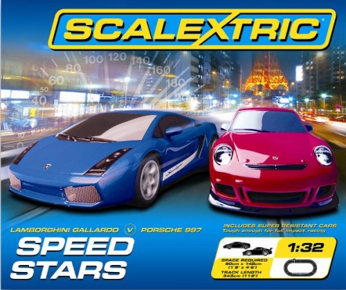 Scalextric C1243 1:32 Scale Speed Stars Race Set
