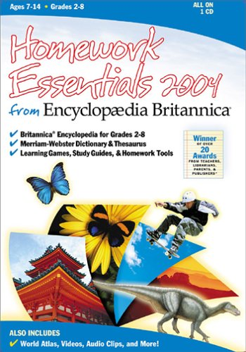 Homework Essentials 2004 (Jewel Case)