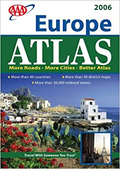 how to read a road atlas map