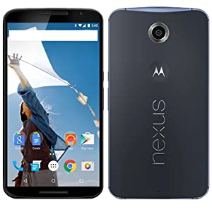 Motorola Nexus 6 64GB SIM-Free - Midnight Blue