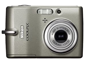 Nikon Coolpix L11 6MP Digital Camera with 3x Optical Zoom