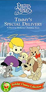 Timmys Special Delivery A Precious Moments Christmas Story Vhs by Sony