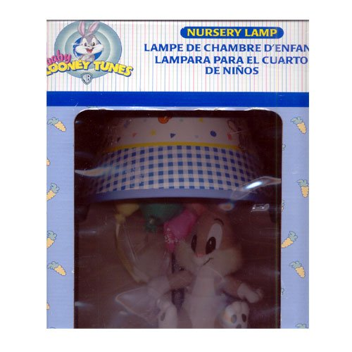 "Baby Looney Tunes ""Balloon Time"" Nursery Lamp by Dolly - 1"