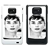 Audrey Hepburn Cover case for Samsung Galaxy S2 i9100 - 119 - White