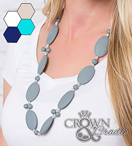 Silicone Teething Necklace By Crown And Cradle Jewelry