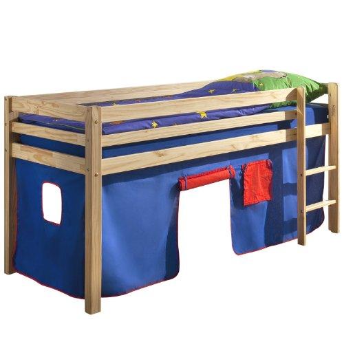 lit mi hauteur pas cher. Black Bedroom Furniture Sets. Home Design Ideas