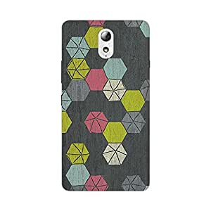 Garmor Designer Silicone Back Cover For Panasonic T45