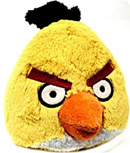 "Angry Birds 5"" Plush Yellow Bird With Sound"