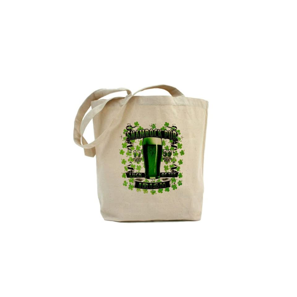 Tote Bag Shamrock Pub Luck of the Irish 1759 St Patricks