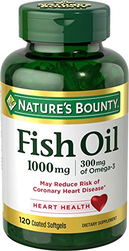 Nature's Bounty Fish Oil 1000 mg Omega-3 & Omega-6, 120 Odorless Softgels (Packaging May Vary) (Natures Bounty Omega 3 6 compare prices)