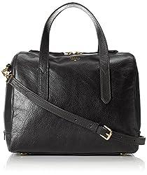 Fossil Sydney Womens Handbag (Black) (ZB5486001)