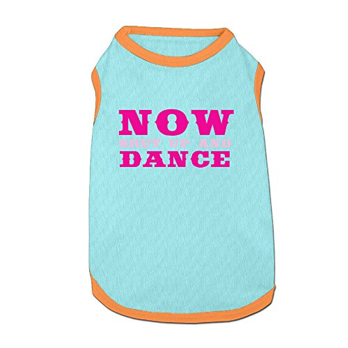 Individuality DogShirt Now Shut Up And Dance Dog Apparel (Revolution Dance Costumes 2015)