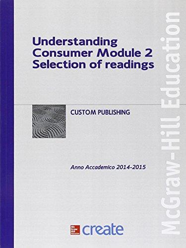 Understanding consumer. Module 2 (Create)
