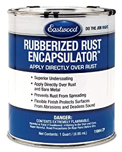 Eastwood Rubberized Rust Encapsulator Undercoating Quart from Eastwood