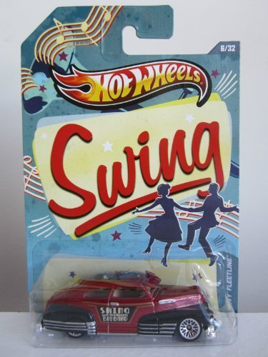 Hot Wheels Jukebox Swing '47 Chevy Fleetline Red/Black #6/32 - 1