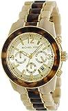 Michael Kors Preston Chronograph Horn and Tortoiseshell Acetate Ladies Watch MK5764