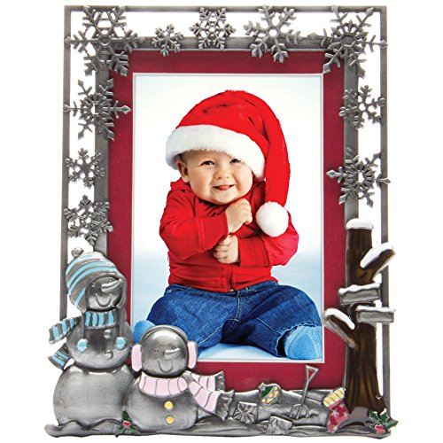Pewter Christmas Picture Frame (Snowflake Picture Frame compare prices)