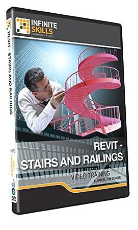 Revit - Stairs And Railings - Training DVD