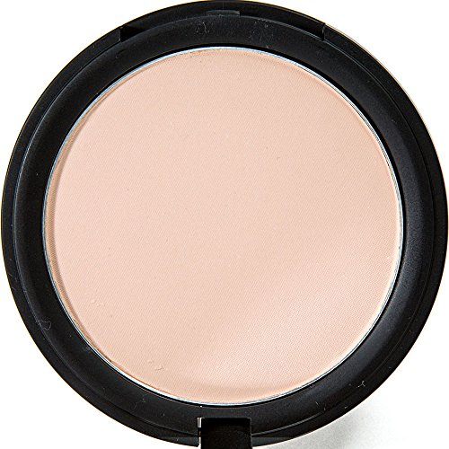 Translucent Pressed Matte Setting Finishing Face Powder Makeup - With Black Mirrored Compact Case & Applicator - Cosmetics With Minerals, Lasting Stay, Smooth & Easy Blending Finish - Sheer Medium (Mac Medium Plus Pressed Powder compare prices)