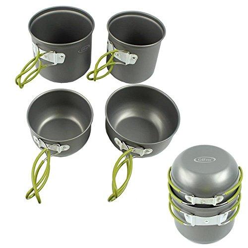 G4Free-Outdoor-Camping-pan-Hiking-Cookware-Backpacking-Cooking-Picnic-Bowl-Pot-Pan-Set-4-Piece-Camping-Cookware-Mess-Kit