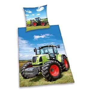 Tractor Single Reversible Duvet Cover & Pillowcase Set ...