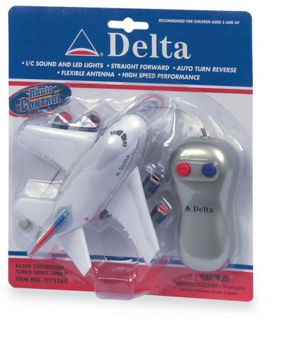 Buy Delta Airlines Radio Control Airplane