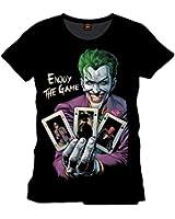 Batman - Joker T-shirt - The Game - Officially licensed DC Comics Tee - Black