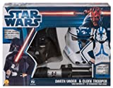 Star Wars Darth Vader And Clone Trooper Box Set, Multicolored