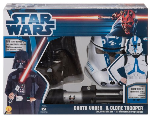 Star Wars Darth Vader And Clone Trooper Box Set, Multicolored