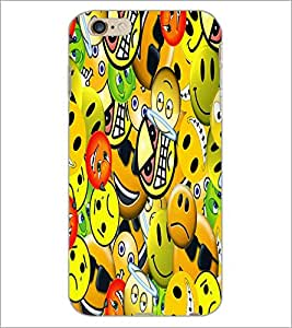PrintDhaba Different Images D-5580 Back Case Cover for APPLE IPHONE 6 (Multi-Coloured)