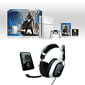 PlayStation 4 Destiny Bundle + AstroGaming A40 White Headset