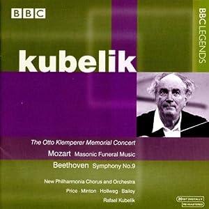 Rafael Kiubelik - Mozart : Musique Funebre Maconnique K477 & Beethoven : Symphon