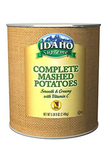 Idaho Supreme Complete Mashed Potato Granules with Vitamin C, 5.5 Pound -- 6 per case. (Idaho Food compare prices)
