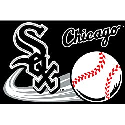 Chicago White Sox MLB Tufted Rug (30&quot;x20&quot;)