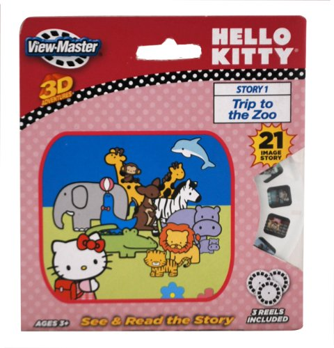 Basic Fun ViewMaster Hello Kitty 3 Reel Set - 1