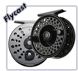 Winston Ross FlyCast Fly Cast #4 Fly Fishing Reel - Color Titanium