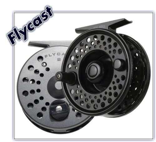 Ross Flycast #2 Fly Fishing Reel - Color Titanium