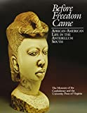 img - for Before Freedom Came: African-American Life in the Antebellum South (American Library Association Notable Book) book / textbook / text book