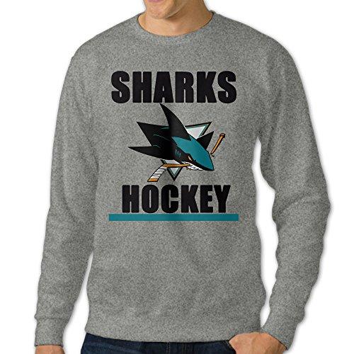 U9 Men's San Jose Hockey Sharks Crewneck Sweat Shirt (Denmark Aluminum Pressure Cooker compare prices)