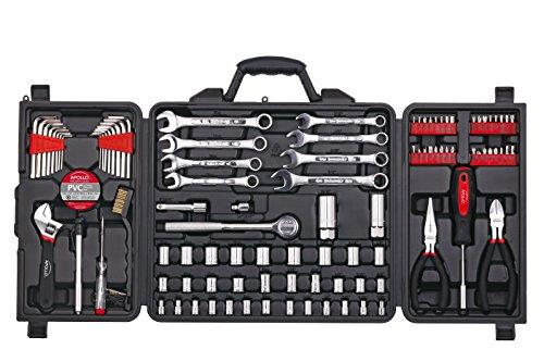Apollo Tools DT0006 Mechanics Tool Kit, 101-Piece