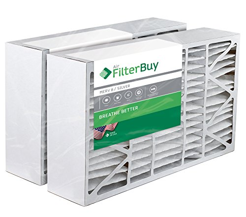 2- 16x28x6 Aprilaire Space-guard 2400 Aftermarket Pleated AC Furnace Air Filters. AFB Silver MERV 8. (Furnace Filters 2400 compare prices)